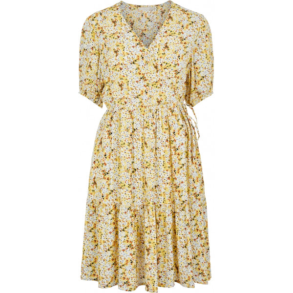 PIECES Pieces dame kjole PCSUNNY Dress Popcorn flowers