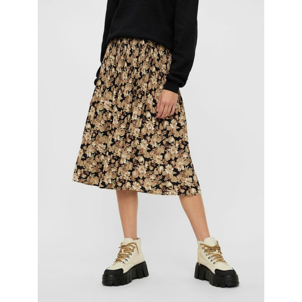 PIECES Pieces dame nederdel PCDAGMAR Skirt Black