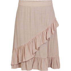 PIECES Pieces dame nederdel PCFLONNY Skirt Misty rose