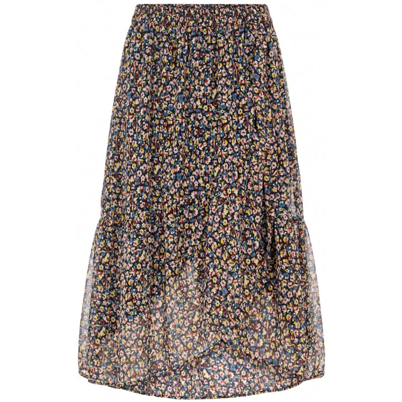 PIECES Pieces dame nederdel PCMACYA Skirt Black