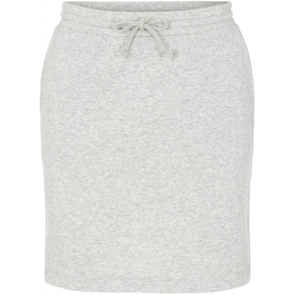Pieces dame nederdel PCOLINA - Light Grey