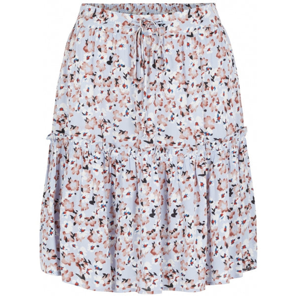 PIECES Pieces dame nederdel PCSunny Skirt Kentucky blue Flowers