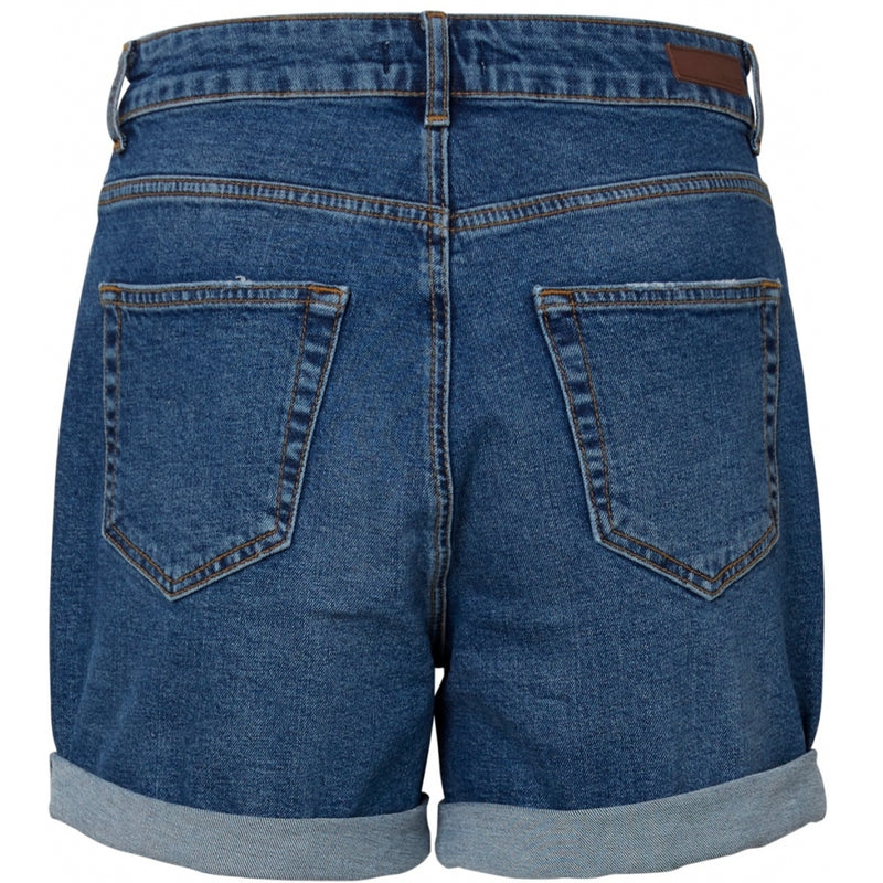 PIECES Pieces dame shorts PCLEAH Shorts Blue