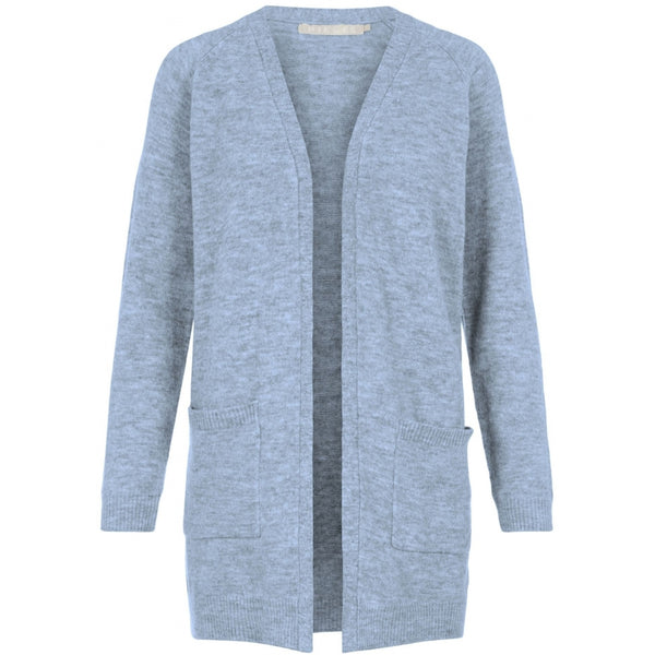 PIECES Pieces dame strik cardigan PCPERLA Cardigan Cashmere Blue