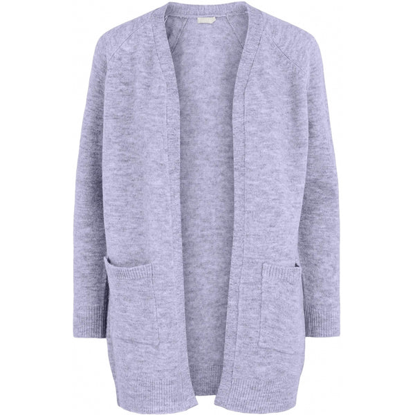 PIECES Pieces dame strik cardigan PCPERLA Cardigan Purple Heather