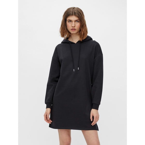 PIECES Pieces dame sweat kjole PCCHILLI Dress Black