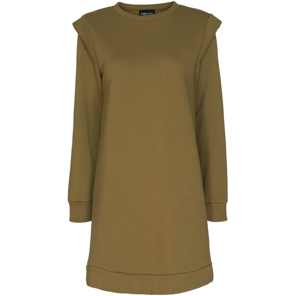 Pieces dame sweat kjole PCNIPPY - Olive