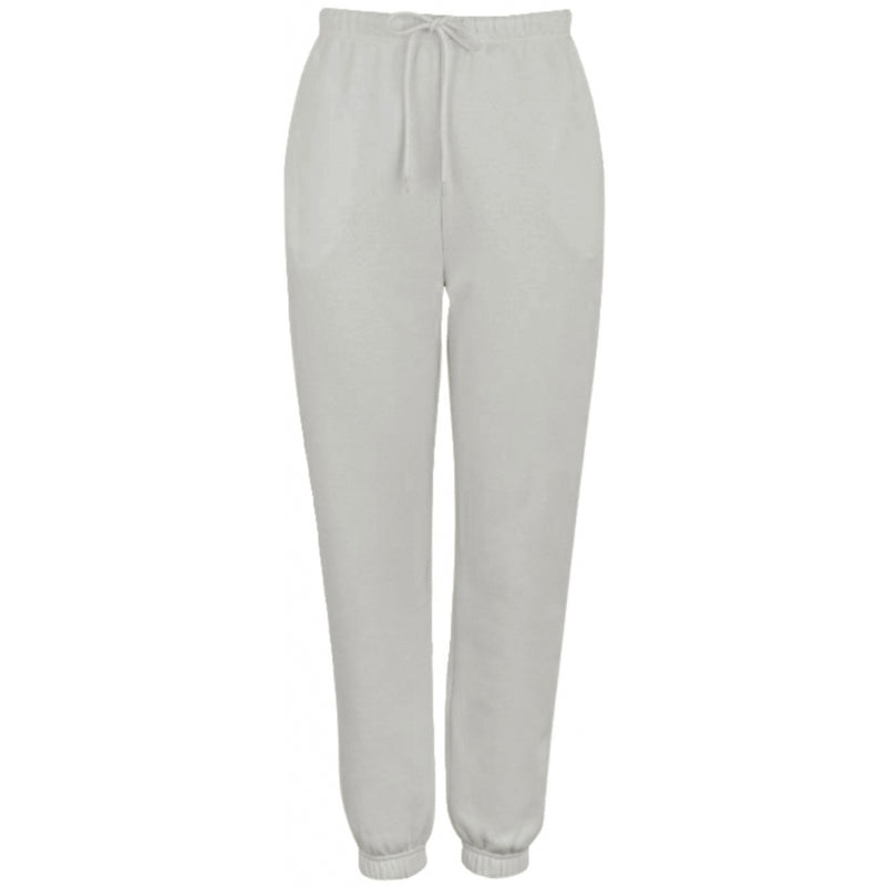 PIECES Pieces dame sweatpants PCCHILLI Pant Light grey melange