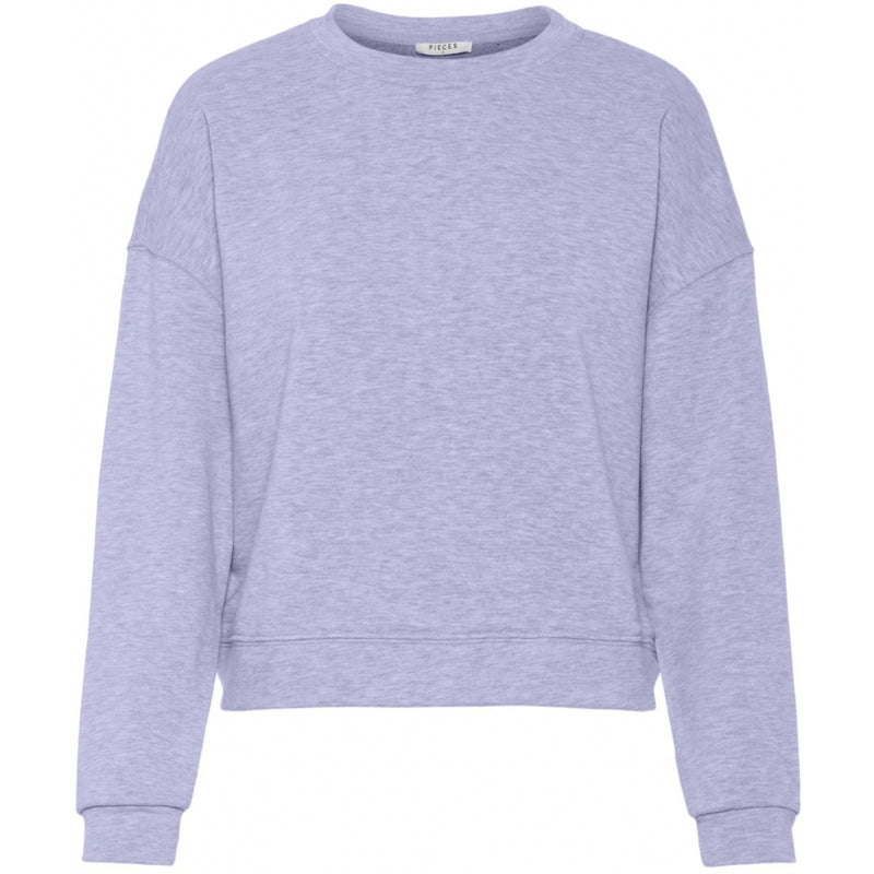 PIECES Pieces dame sweatshirt PCEMILIA Sweatshirt Purple Heather