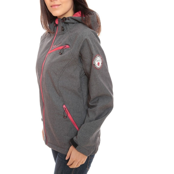 Geographical Norway GEOGRAPHICAL NORWAY Softshell jakke Dame TWISTER Softshell Grey/Pink