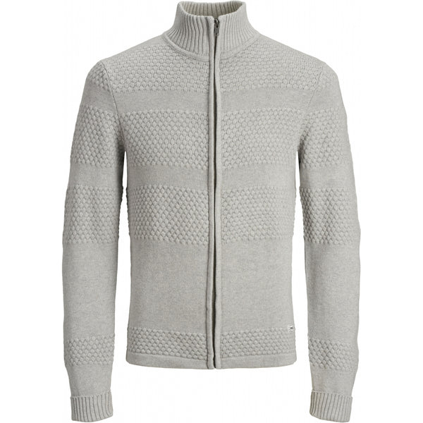 PRODUKT Produkt herre strik cardigan PKTORI Knit Light grey melange