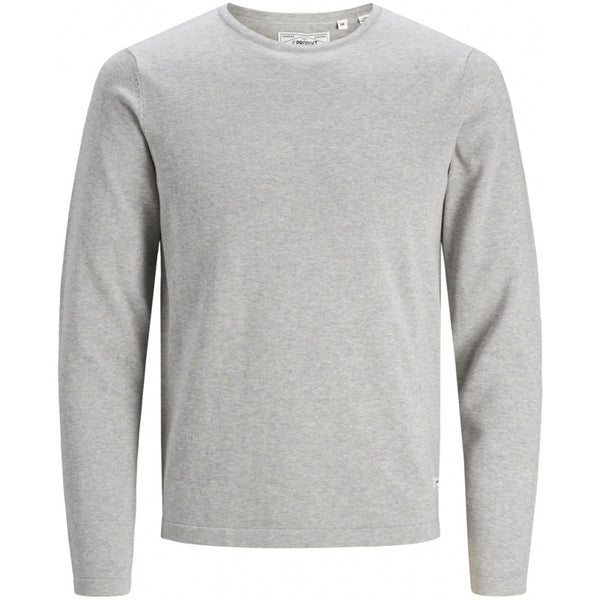 PRODUKT Produkt herre striktrøje PKTORI Knit Light grey melange