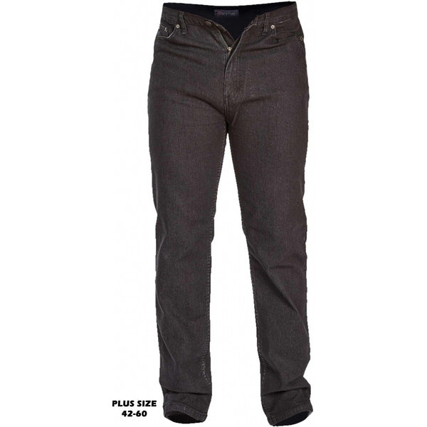 Duke Clothing ROCKFORD DUKE D555 Herre Jeans COMFORT PLUS Jeans Black