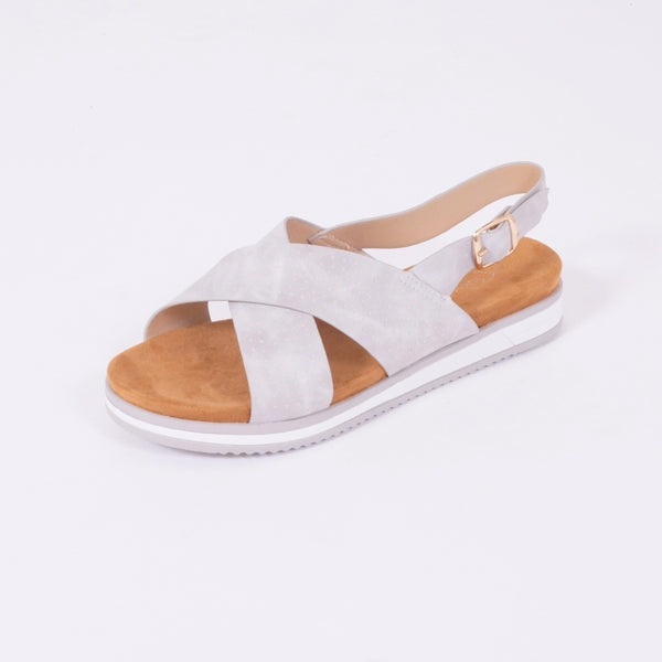 Tex-Time Sandal Dame Linea Sixth Sens Shoes Shoes Grey