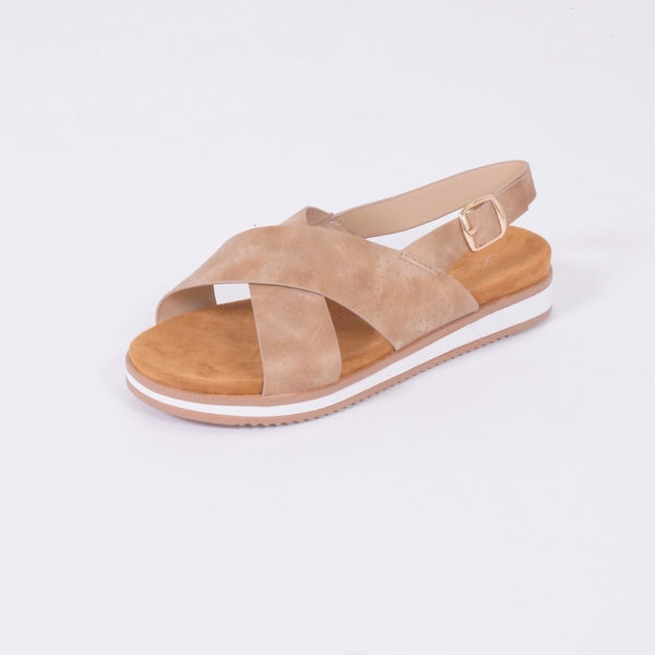 Tex-Time Sandal Dame Linea Sixth Sens Shoes Shoes Nude