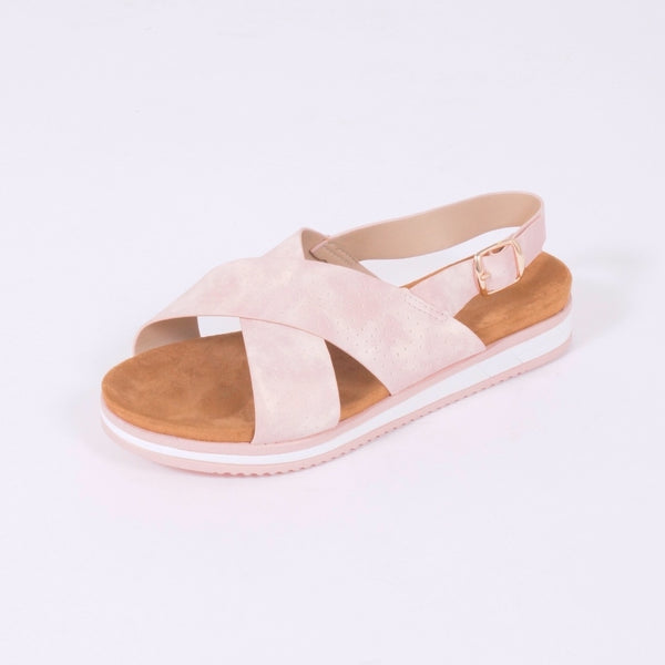 Tex-Time Sandal Dame Linea Sixth Sens Shoes Shoes Rosa