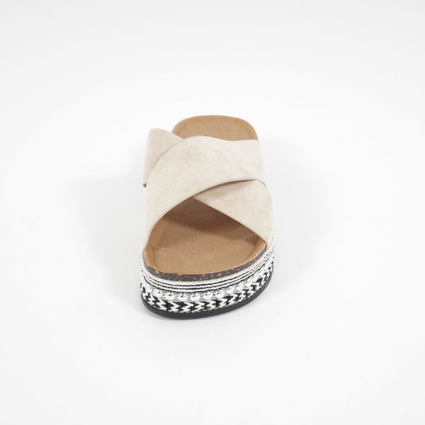 Tex-Time Sandal dame Dahlia Sixth Sens Shoes Shoes Beige