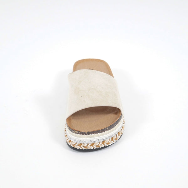 Tex-Time Sandaler Dame Beach Sixth Sens Shoes Shoes Beige