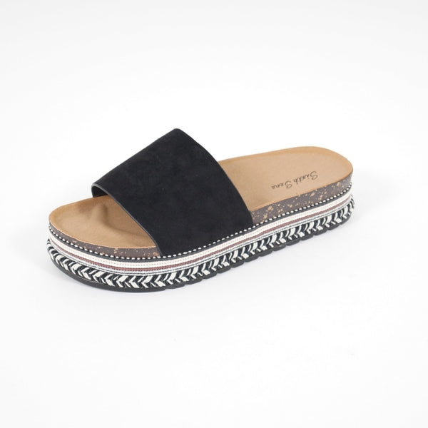 Tex-Time Sandaler Dame Beach Sixth Sens Shoes Shoes Black