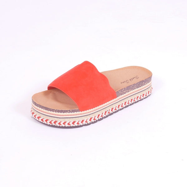 Tex-Time Sandaler Dame Beach Sixth Sens Shoes Shoes Red
