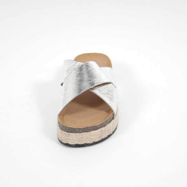 Tex-Time Sandaler Dame Beatrice Sixth Sens Shoes Shoes Silver