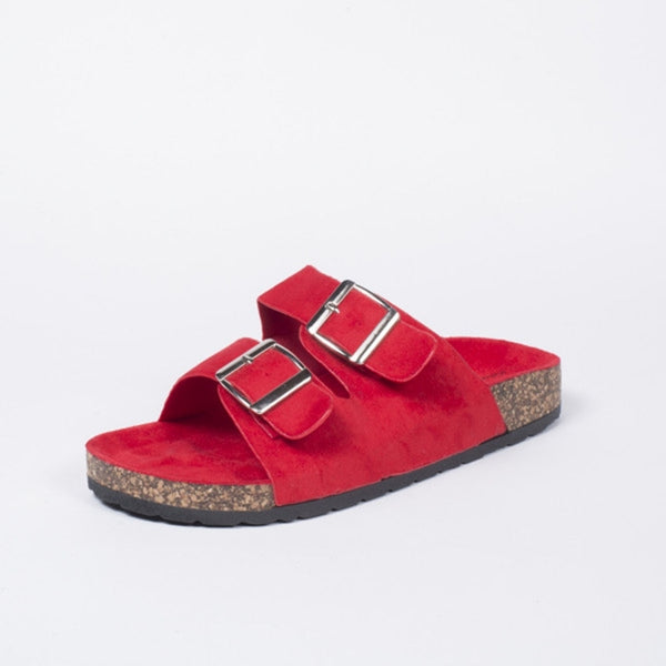 Tex-Time Sandaler Dame Ideal Shoes Shoes Red