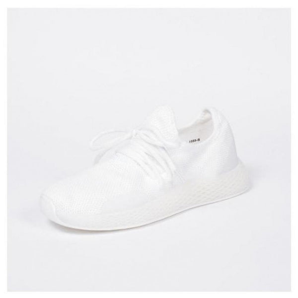 Tex-Time Sneakers Dame Ideal Shoes Shoes White
