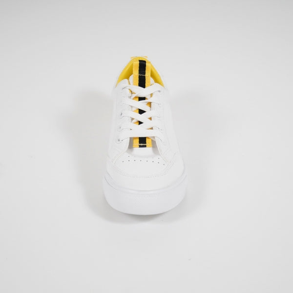 Tex-Time Sneakers Dame Stripe Sixth Sens Shoes Shoes Yellow