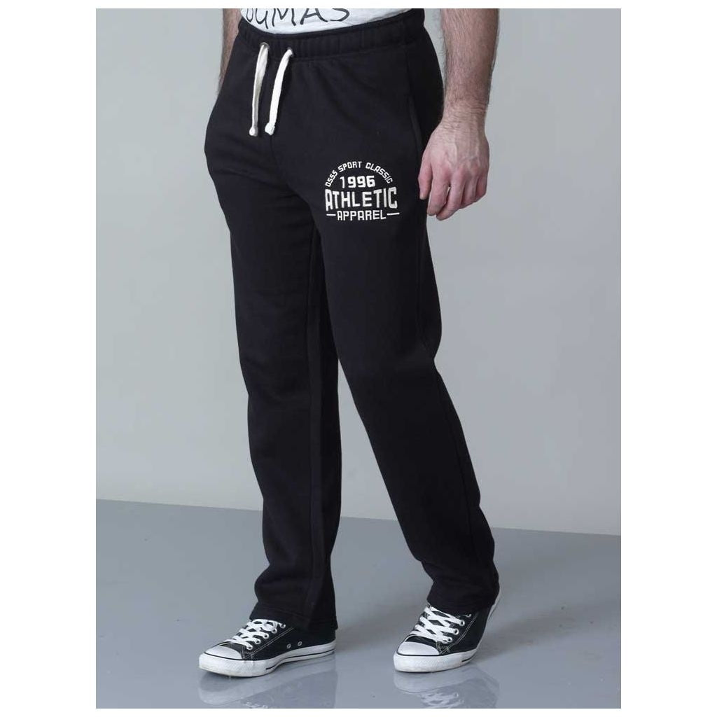 Duke Clothing Sweatpants Joggingbukser Herre D555 Sweatpant Black