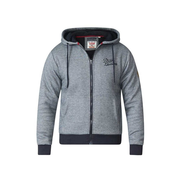 Duke Clothing Sweatshirt Herre D555 William Sweatshirt Grey