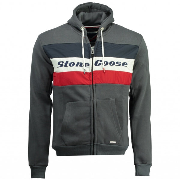 Geographical Norway Sweatshirt STONE GOOSE Herre FAGOOSE Sweatshirt Dark Grey