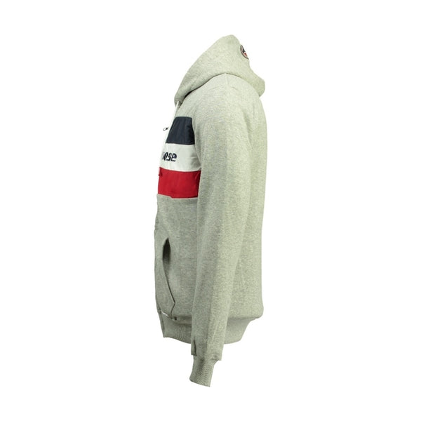Geographical Norway Sweatshirt STONE GOOSE Herre FAGOOSE Sweatshirt Light Grey