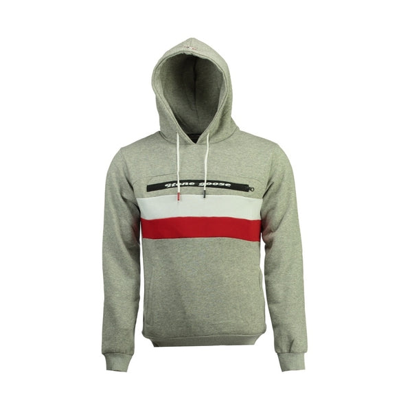 Geographical Norway Sweatshirt STONE GOOSE Herre FARIO Sweatshirt Light Grey