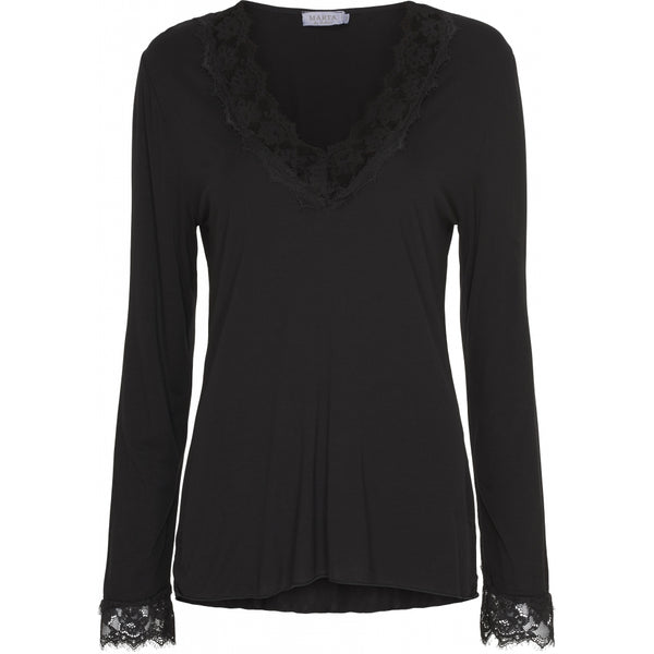 MARTA DU CHATEAU Top Top Black