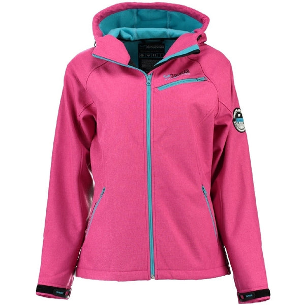 Geographical Norway GEOGRAPHICAL NORWAY Softshell jakke Dame TWISTER Softshell pink/Turquoise