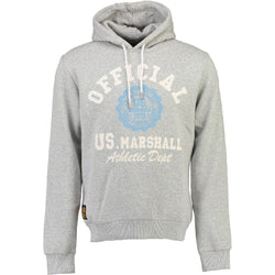 Geographical Norway US MARSHALL Sweatshirt Gofficial Sweatshirt Grey