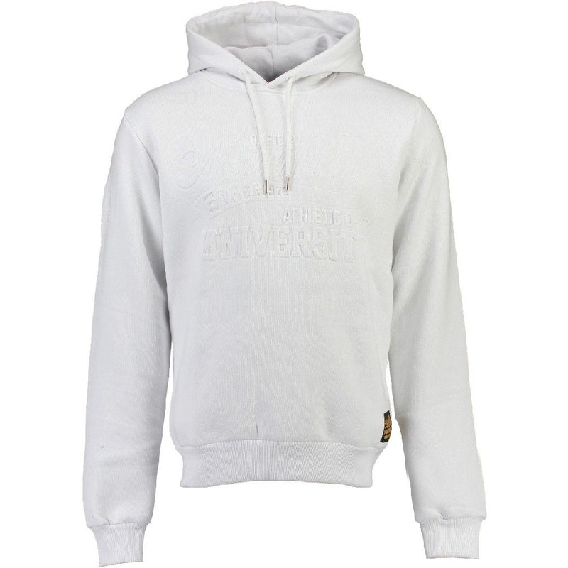 Geographical Norway US MARSHALL Sweatshirt Gunivershall Sweatshirt White