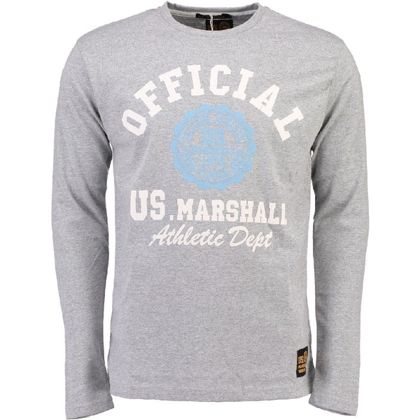 Geographical Norway US Marshall LS Tee Jofficial LS Tee Grey