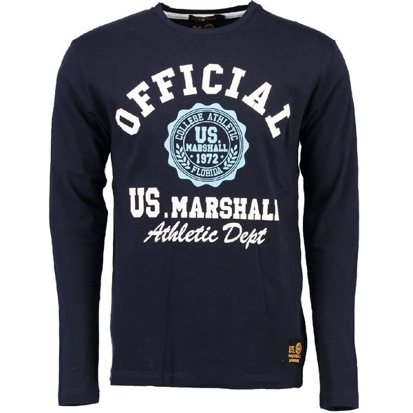 Geographical Norway US Marshall LS Tee Jofficial LS Tee Navy