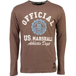 Geographical Norway US Marshall LS Tee Jofficial LS Tee Taupe