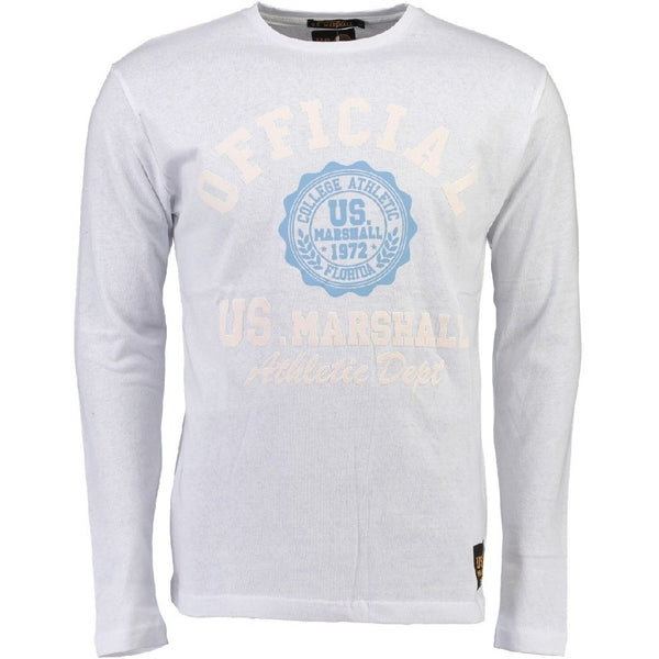 Geographical Norway US Marshall LS Tee Jofficial LS Tee White