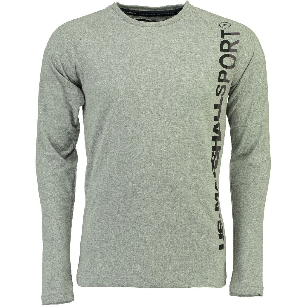 Image of   US marshall Langærmet tee Jupershall - Grey - M