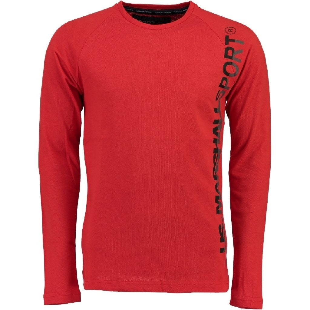 Image of   US marshall Langærmet tee Jupershall - Red - L