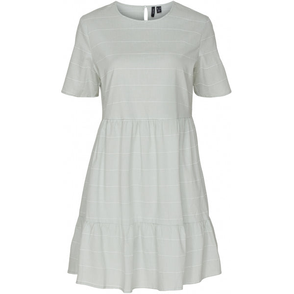 Vero Moda Vero Moda dame kjole VMNOELLE Dress Laurel green white
