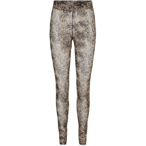 Vero Moda Vero Moda dame leggins VMTEGAN Leggins Black animal