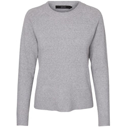 Vero Moda Vero Moda dame strik VMDOFFY Knit Light grey melange