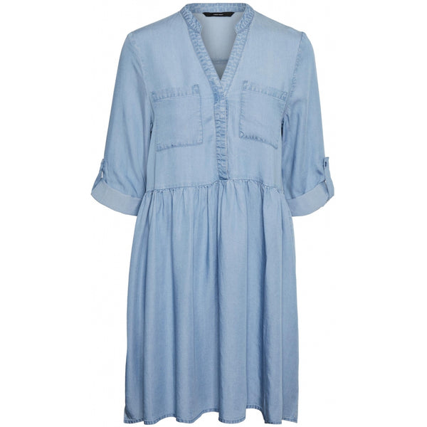 Vero Moda Vero Moda dame tunika VMLIBBIE Dress Light blue