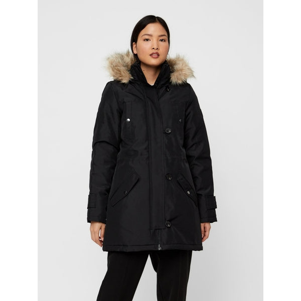 Vero Moda Vero Moda dame vinterjakke VMEXCURSIONEXPEDITION Winter jacket Black