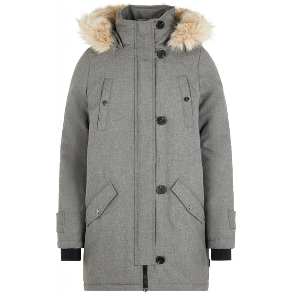 Vero Moda Vero Moda dame vinterjakke VMEXCURSIONEXPEDITION Winter jacket Grey Melange
