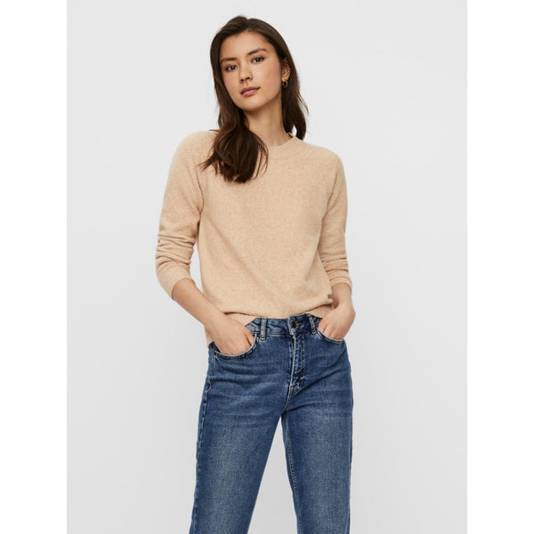 Vero Moda Vero Mode dame strik VMDOFFY Knit Tan melange